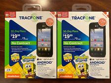 (LOT 2) Limited Spongebob TracFone LG L34C Optimus Fuel Android Smartphone
