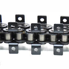 "#40 Both Side Bent Ear Roller Chain Pitch 1/2"" 08B-1 Roller Chain x 1.5Meters"
