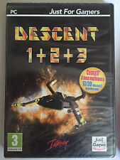 Descent 1 2 3 Just for Games Jeu informatique 29/02/2012