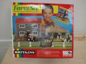 Vintage Farm Set by Britains Ltd  (sel]