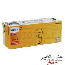 10x Philips P21W BA15s 12V/21W 10 Stk. Vision Glühlampe