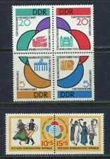 31370) DDR 1962 MNH** Youth Festival for Peace 6v.
