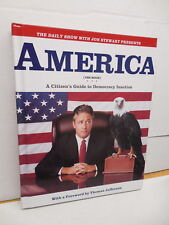 America The Book John Stewart Daily Show Citizen's Guide To Democracy Inaction
