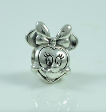 Genuine Sterling Silver  Minnie Mouse Portrait Charm S925