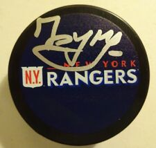 Autographed PAVEL BUCHNEVICH Signed NEW YORK RANGERS Hockey Puck