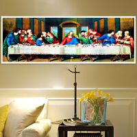 The Last Supper 5D DIY Diamond Painting Cross Stitch Kits Art Home Decor 80x30cm