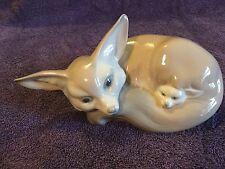 lladro porcelain fox