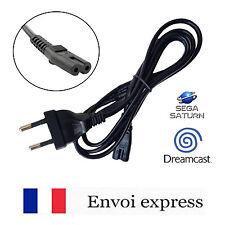 Cable alimentation / cordon secteur AC console Sega Saturn / Dreamcast -embout 8
