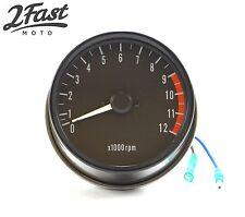 Kawasaki Tach Tachometer Assembly 0-12,000 RPM KZ900 KZ1000 Z1 900 2FastMoto