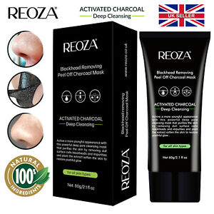 Blackhead Remover Face Mask Peel-Off Cleansing Facial Activated Charcoal Removal