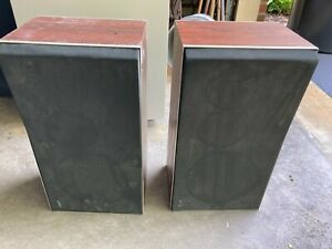 Bang & Olufsen Beovox S45-2 Speakers Matched Pair With Covers, GREAT SHAPE