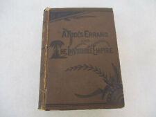 A Fool's Errand & the Invisible Empire Civil Rights Novel Victorian Age 1880