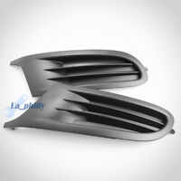 Pair Front Right+Left Side Lower Bumper Grille Cover For VW Golf MK6 2009-2013
