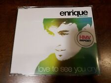 Enrique Iglesias cd single - Love To See You Cry