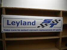Leyland Speciali Tuning Banner... in stile retrò Workshop Garage Segno in PVC