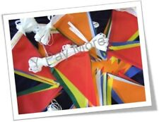 10 M Long Multi Coloured 20 Flags Bunting PVC Banner For Party Indoor & Outdoor