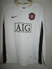 Manchester United 2006-2007 Saha Away Football Shirt Size Large Boys  /11314 LS