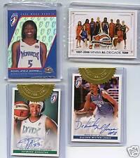 2006 LOT-RC LOT-1997/2006 WNBA ALL DECADE TEAM-2 AUTO'S
