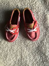 US Sports Toddler Canvas Red Shoes Size 6 Boys
