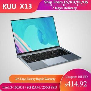Metal 13.5 Inch Intel i3-1005G1 2K IPS Screen Gaming Laptop Fingerprint 8GB RAM