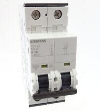 Siemens 5SY42 B16 Sicherungsautomat 5SY4216-6 Leitungsschutzschalter 16A 2P 400V