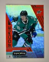 2020-21 UD Synergy Red Rookie #109 Ty Dellandrea RC - Dallas Stars