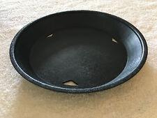 """TableCraft - 137510Bk - 10.5"""" Diner Platter, Fast Food Basket, Black, Qu - 12"""