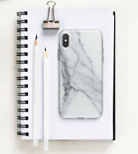 Marbled iPhone XR 7 8 Plus Case Gray iPhone X 6 6s Cover Stone iPhone XS Max 5c