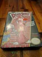 Brand New, factory sealed. H-Seam, Who Framed Roger Rabbit Nintendo NES game.