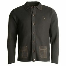 Gabicci Collared Button-Front Cardigans for Men