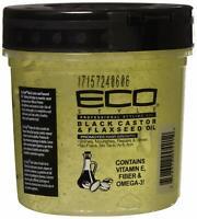 Eco Style Black Castor & Flexseed Oil Styling Gel