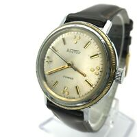 Bicolored VOSTOK Champagne Dial USSR Men's Watch Russia SERVICED Formal Analog