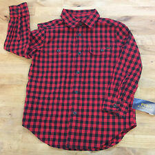 Polo Ralph Lauren Long Sleeve Shirts, Red Multi, Size 4/4T