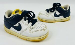 2007 Lil Nike Dunk Low MICHIGAN Size 7c