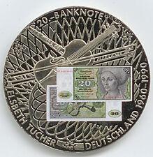 Medaille 20 D-Mark Farbe E. Tucher Deutschland 1960-1990 Ø 50 mm 51 Gr. B78