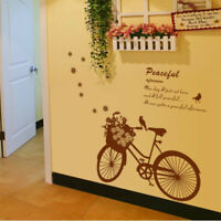 Creative Bike Bicycle Wall Sticker Removable Decal Vinyl Art DIY Home Decor Gift