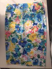 Ralph Lauren Floral Skirt Woman Ladies Flowers Print Straight Pencil Skirt.