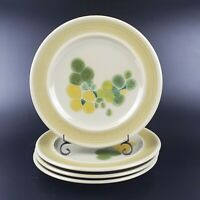"Set of 4 VTG Franciscan Pottery Earthenware Pebble Beach 8 1/2"" Salad Plates"