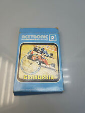 More details for vintage acetronic 2 tv game system cartridge - grand prix