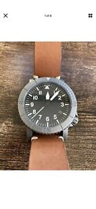 Redux Courg Rdx Type A Titanium Military Divers Watch Sold Out Model!! Mint