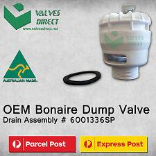 Genuine OEM Bonaire Dump Valve Drain Assembly Part No.6001336SP- 1 Year Warranty