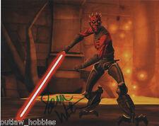 Star Wars Sam Witwer Autographed Signed 8x10 Photo COA