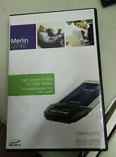 novatel merlin u740 high speed wlan pc card modem hsdpa/umts edge/grps-neu