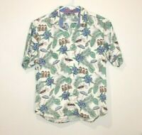 Tommy Bahama Button Up Short Sleeve Shirt Men's Size Large