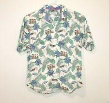 Tommy Bahama Button Up Short Sleeve Shirt Men's Size Large