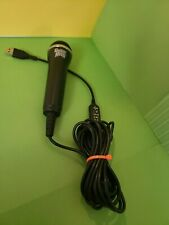 Guitar Hero Black USB Microphone E-UR20 For X Box 360 PS3 Wii and PC