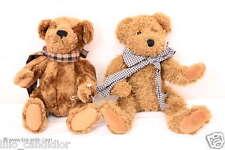 2 Wunderschöne kleine Bären / Brummbär / Sunkid Bären / Teddy Bären mit Schal