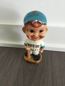 Vintage 1960's Chicago White Sox Nodder Bobblehead - See pics for condition!