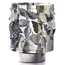 Rotierender Teelichthalter Metallteelicht Laub Laubleuchte 12 Cm