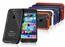 """FUSION BUMPER GEL CASE CLEAR BACK REAR COVER FOR NEW iPHONE 6 4.7"""""""
